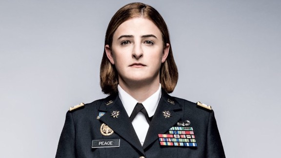 First Time Military UNIFORM Jennifer Peace