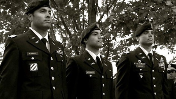 First Time Military UNIFORM Albornoz Brothers