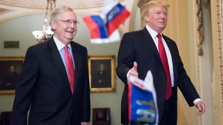 Protester Throws Russian Flags At Trump Cnnpolitics