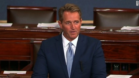 Sen. Flake announces he won't run in 2018 (full)