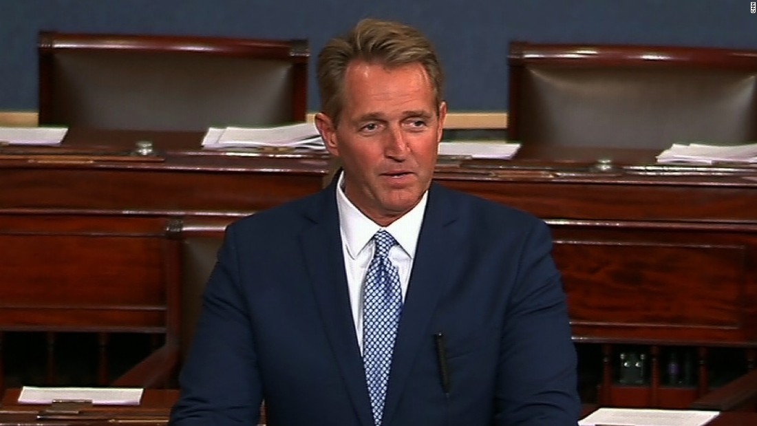 Jeff Flake\'s full speech announcing he won\'t run for re-election ...