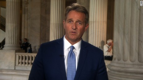 Jeff Flake on Trump's Iran deal decision: 'I just don't think it's a wise move'