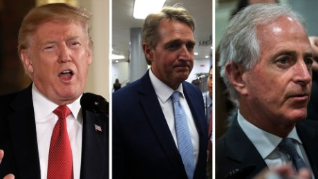 Flake, Corker can't break the GOP fever