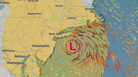 Why strong winds, heavy rain may pummel New York on Sandy anniversary
