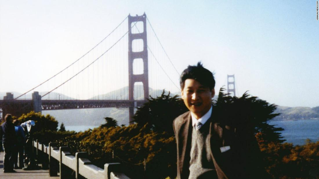 Xi visits San Francisco in 1985.