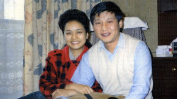 Xi and Peng in 1989.