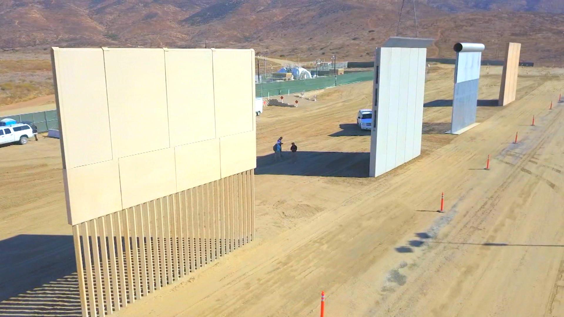 Fact Check: Construction on a new border wall? - CNN Video
