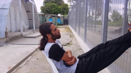 Refugee makes film from behind bars