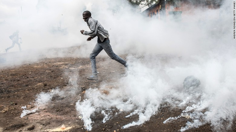 Kenya holds controversial second election