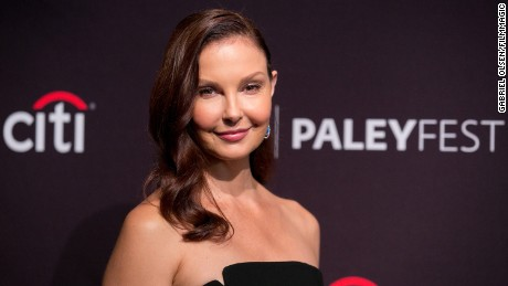 Ashley Judd: Aftermath of speaking out against Weinstein has been 'moving'