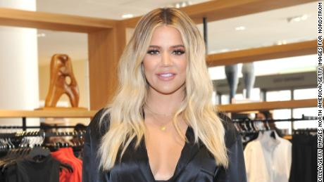 LOS ANGELES, CA - OCTOBER 07:  Co-founder of Good American Khloe Kardashian attends Good American Anniversary Celebration With Khloe Kardashian & Emma Grede at Nordstrom Century City on October 7, 2017 in Los Angeles, California.  (Photo by Donato Sardella/Getty Images for Nordstrom)