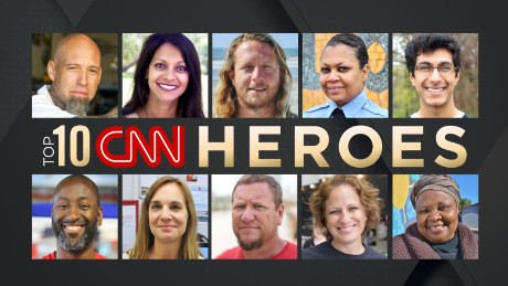 The Top 10 CNN Heroes of 2017
