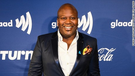 Tituss Burgess came to the defense of co-star Ellie Kemper.
