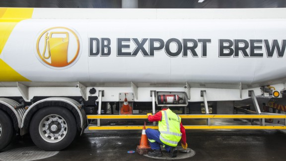 New Zealand became the first country in the world to fuel cars using yeast left over from brewing beer in 2015.  The biofuel, called Brewtroluem, is made by a brewery in New Zealand called DB Export.