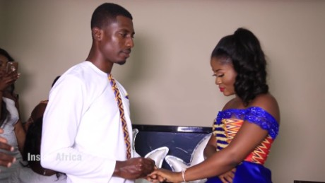 Inside Africa  Kente Wedding Says Yes to the Dress C_00020830