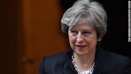 Theresa May has said Britain will not remain in the customs union after Brexit.