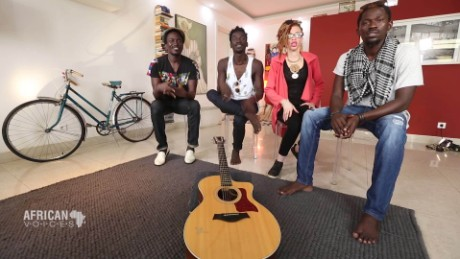 African Voices Five siblings shake up Senegal's rock scene A_00004523