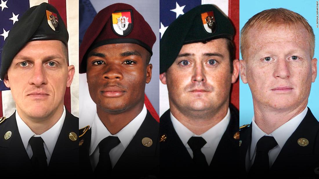 Pentagon video reveals new details of deadly Niger ambush