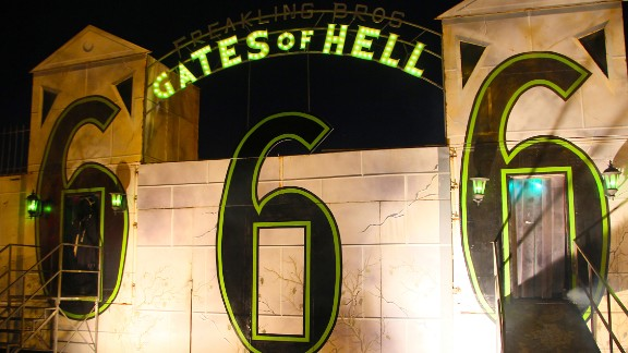 """Freakling Bros. Trilogy of Terror (Las Vegas): The """"Gates of Hell"""" comes with some troubling numerology and an R rating. Hmmmm, is it a Vegas lounge act gone bad?"""