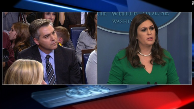 WH, reporter spar over Russia question