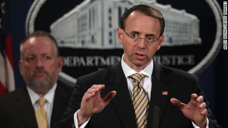 Rod Rosenstein: No good cause to fire Mueller
