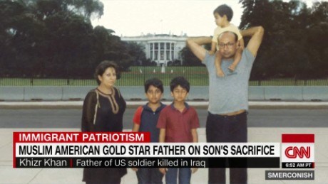 Muslim American Gold Star father on son's sacrifice