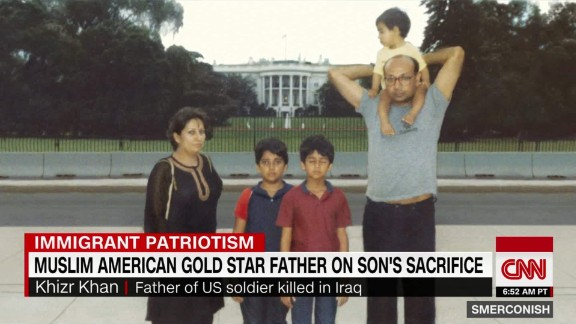 Muslim American Gold Star father on son