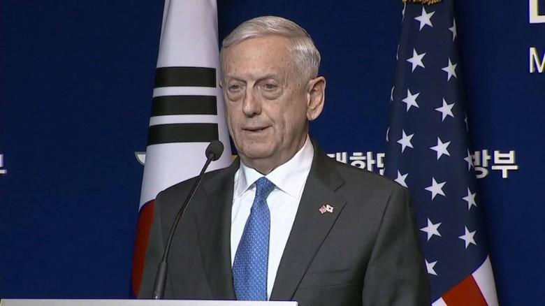 Secretary Mattis' warning to North Korea