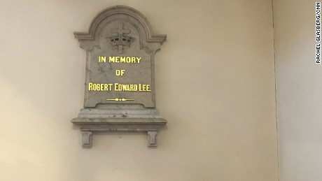 Church to relocate plaques of Lee and Washington