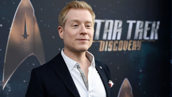 "Anthony Rapp is a cast member in ""Star Trek: Discovery."""