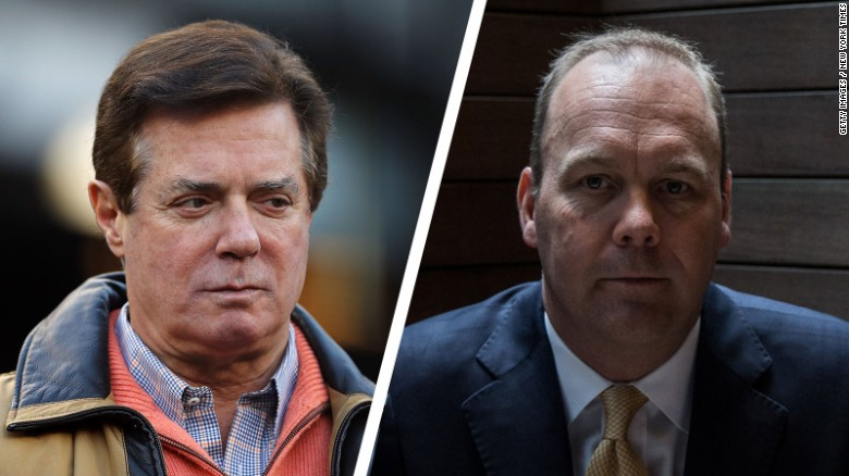 New charges filed against Manafort, Gates