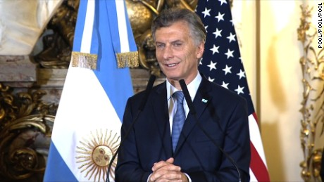 President Barack Obama hopes to capitalize on renewed goodwill in Latin America when he is welcomed in Argentina on March 23, 2016 for talks with Argentinian President Mauricio Macri.