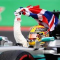 lewis hamilton mexico british flag