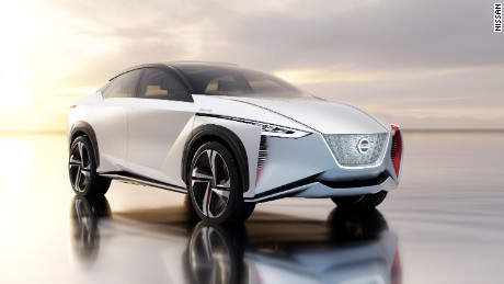 Nissan's dramatic Tokyo show car is the IMx, a pure-electric SUV that can run for more than 600 kilometres between charges. It feels full autonomous driving functionality, too.