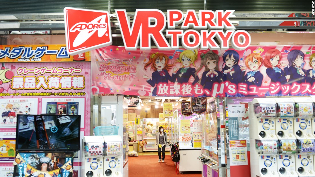 Japan pioneers VR themeparks