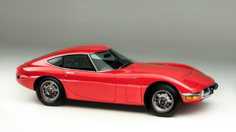 The Toyota 2000GT of the late 1960s was an inspiration for the new Supra.