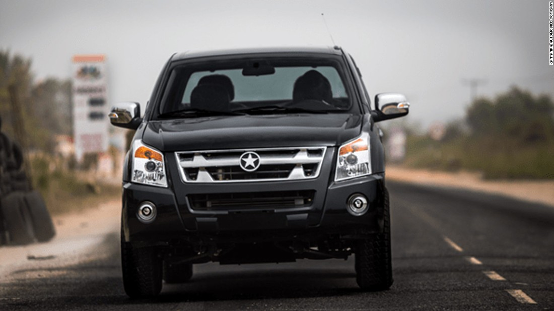 "With a manufacturing base in Accra, and starting at a price of $20,000, <a href=""http://edition.cnn.com/2015/12/29/africa/ghana-katanka-cars-feat/index.html"" target=""_blank"">Kantanka is the first 'Made in Ghana' car. </a>They are built to deal with poor quality roads and have been used by the Ghanian police service."