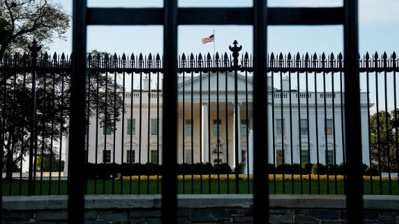 WASHINGTON, DC - OCTOBER 30:  Early morning light lands on the North Portico of the White House October 30, 2017 in Washington, DC. Former Trump campaign manager Paul Manafort and his ex-business partner Rick Gates turned themselves in to federal authorities Monday in relation to the special counsel