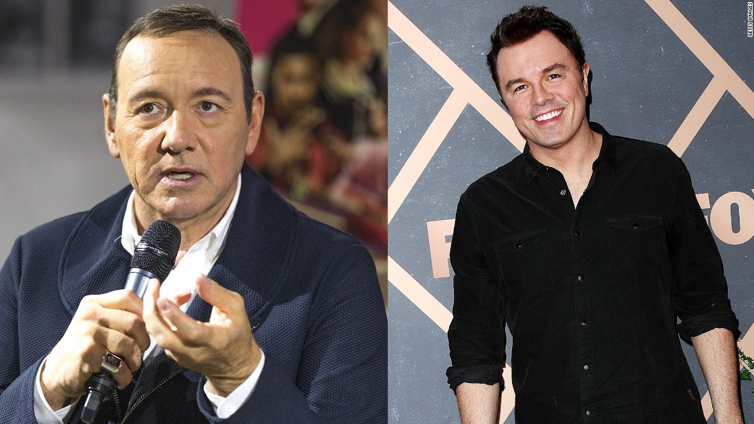 Seth MacFarlane joked about Kevin Spacey on 'Family Guy' episode