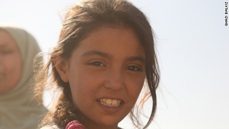 Nine-year-old Haneen would venture out of the house, braving ISIS and airstrikes, to find food for her family.