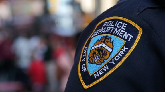 The New York Police Department gives its monthly update on crime statistics.
