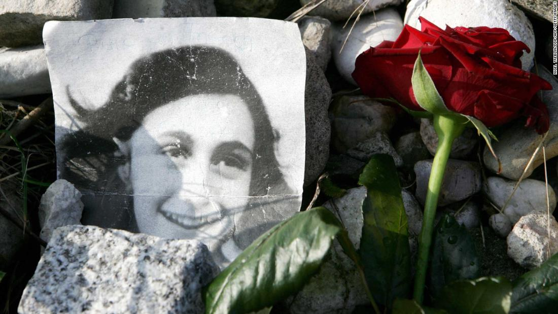 Here's what was on the mystery pages of Anne Frank's diary