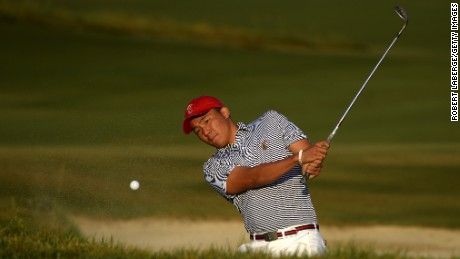 Norman Xiong was part of the 2017 U.S. Walker Cup team that beat Great Britain and Ireland 19-7
