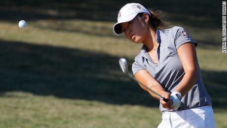 Stanford's Andrea Lee competed for the US in the 2016 Walker Cup.