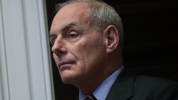 """White House Chief of Staff John Kelly listens during a Roosevelt Room event October 31, 2017 at the White House in Washington, DC. President Trump participated in a """"tax reform industry meeting"""" with business leaders.  (Alex Wong/Getty Images)"""
