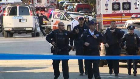 d137ac0580 Manhattan truck attack kills 8 in  act of terror  - CNN