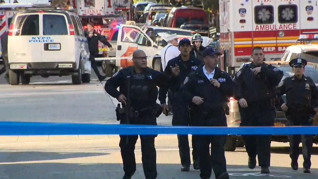 Note found near truck claims Manhattan attack done for ISIS, source says – Trending Stuff
