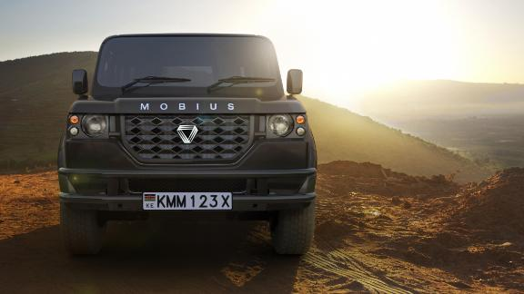 'Made in Africa' cars are on the rise. Mobius Motors, pictured above, are a Kenyan based car company who are releasing the second model of their stripped-down, cost-effective but luxury SUV built for rough terrains. They aim to sell the car to the African mass market, and anywhere else in the world with poor quality roads.   Read more about Africa's car industries.