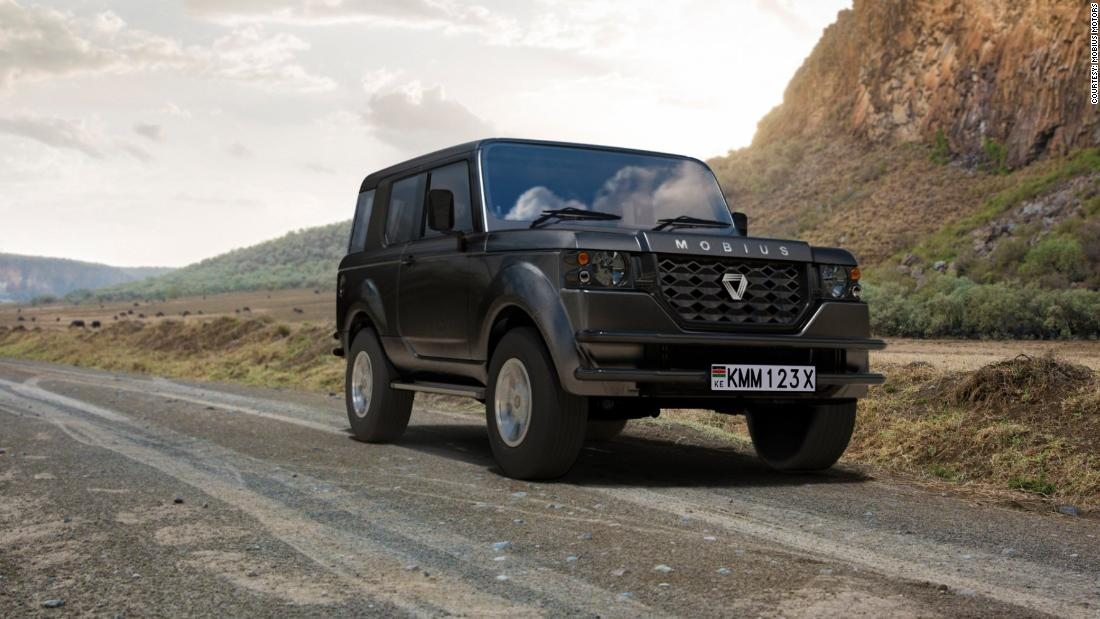Mobius Motors's new SUV aims to provide a luxury, but robust driving experience for the African market. The starting price is $12,500. Their manufacturing center is in Nairobi.