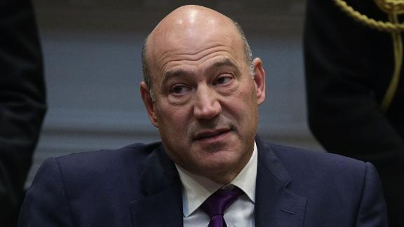 """WASHINGTON, DC - OCTOBER 31:  Director of the National Economic Council Gary Cohn listens during a Roosevelt Room event October 31, 2017 at the White House in Washington, DC. President Trump participated in a """"tax reform industry meeting"""" with business leaders.  (Photo by Alex Wong/Getty Images)"""